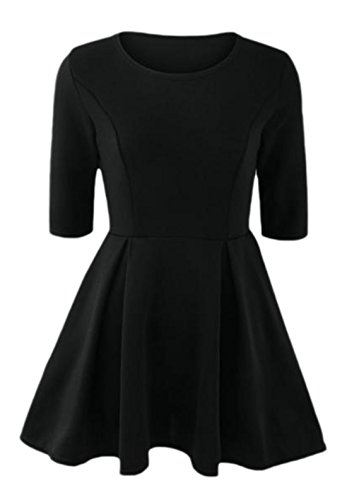erdbeerloft - Vestido - Opaco - para mujer negro