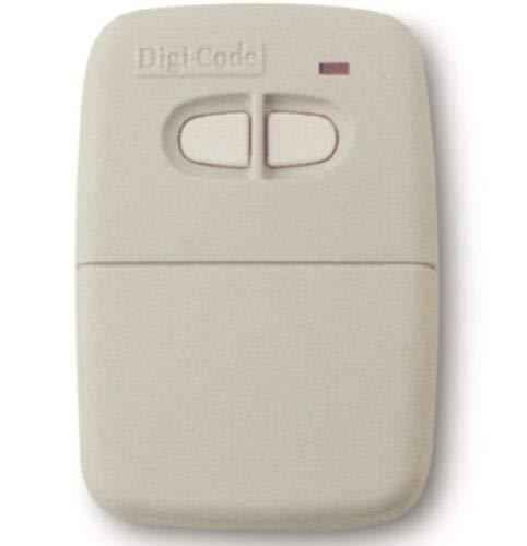 - Digi-Code 5060 Two-Button Visor Gate Garage Door Remote Control DigiCode DC5060