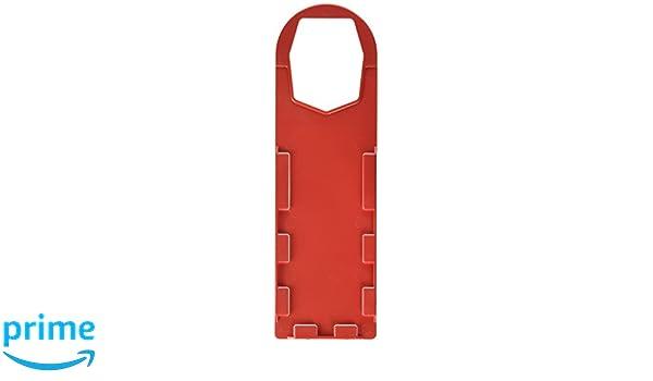 BLANK Red SCAFFTAG HOLDERS RED 10//BOX 10 Tags Brady  SCAF-STH 146BLA-FG