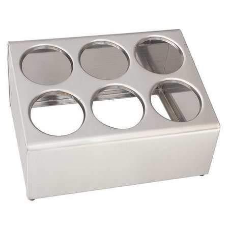 Crestware 6-Hole Counter Flatware Dispenser