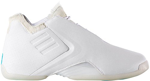 Adidas Hommes T-mac 3 Basketball Blanc / Blanc Courant / Blueglo 13 D (m) Us