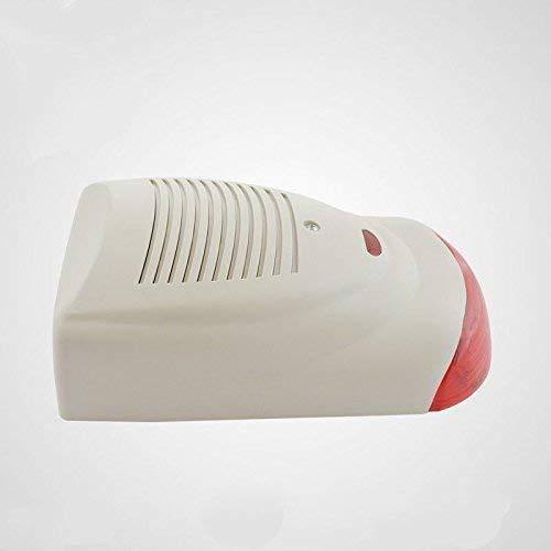 Au/ßenbereich Details zu 12V wasserdichte 120db rote blinkende LED Sirene