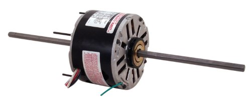 Double Shaft Blower Motor Window (A.O. Smith RA1056 1/2 HP, 2.7 Amps, 48 Frame, PSC, OAO Enclosure, 7-5/8-Inch by 1/2-Inch by 7-1/4-Inch Shaft, Sleeve Bearing Window A/C Unit Motor)
