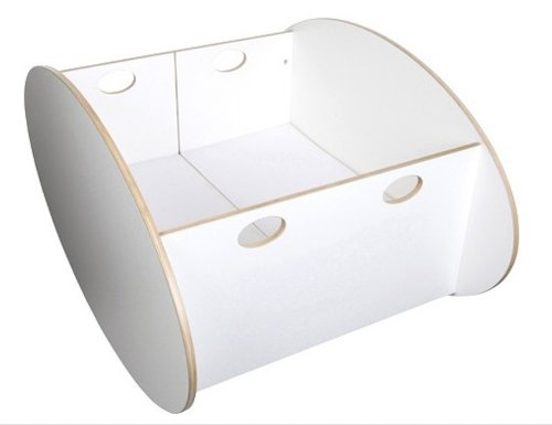 Babyhome So-Ro Twin Cradle White OS -Kids by Babyhome