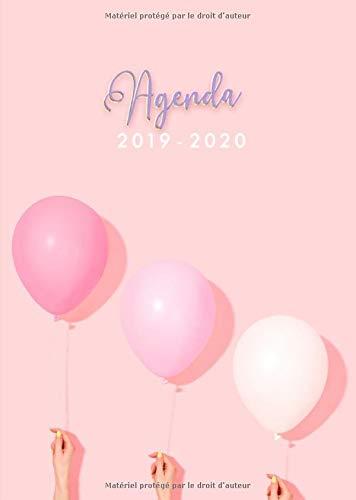 Agenda 2019-2020: Agenda 18 mois journalier 2019-20 ...