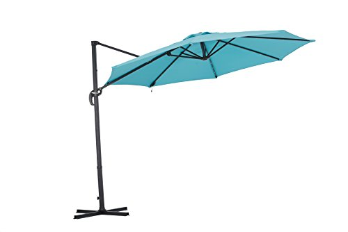 Sunjoy Patio Hanging Umbrellaf