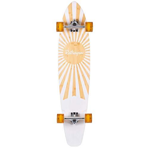 Retrospec Zed Bamboo Longboard Skateboard Complete Cruiser ()