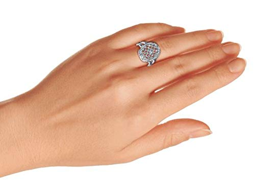 Interwoven CZ Engagement Ring Sterling Silver by Bling Jewelry (Image #7)