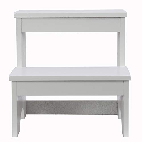 Décor Therapy FR9463 Step Stool, White