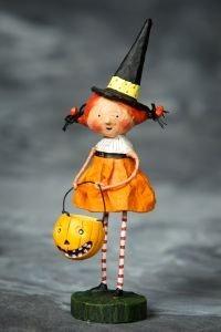 Lori Mitchell Halloween Figurines (Lori Mitchell Perfect Pixie)