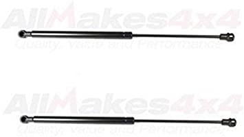Front Hood Window Glass Lift Supports Gas Struts Shocks Fits Land Rover LR3 LR4