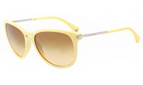 Emporio Armani Women 4006 50762L Yellow 4006 Cats Eyes Sunglasses - Armani 2013 Emporio Sunglasses