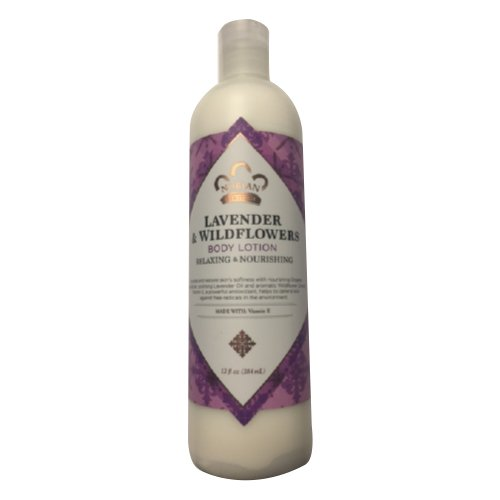 Price comparison product image Nubian Lavender & Wildflowers with vitamin E Lotion 13 fl oz