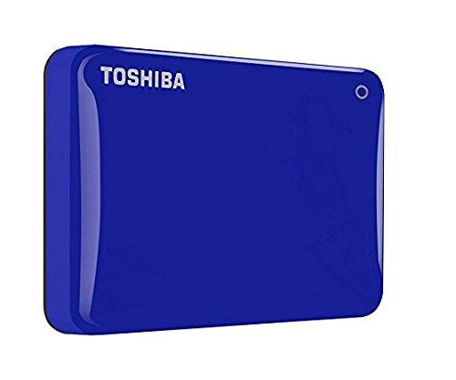 81 opinioni per Toshiba HDTC830EL3CA Canvio Connect II HDD Esterno da 3TB, Blu