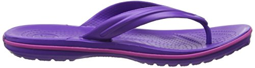 Chanclas Violet Crocband Flip Adulto Crocs ultraviolet vibrant Morado Unisex z8Exdqd