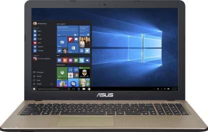 Asus VivoBook APU Dual Core E1 E1 7010    4  GB/1 TB HDD/Windows 10 Home  X540YA XO940T Laptop  15.6 inch, Black, 2 kg