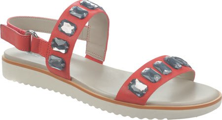 Franco Sarto Womens Diamante Sandal Röd