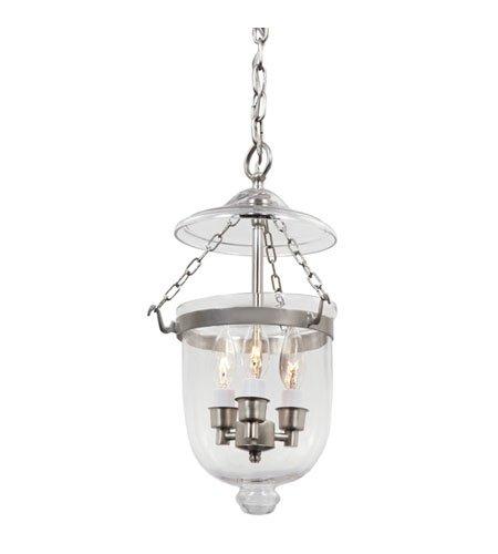 Small Bell Jar Pendant Lights - 9