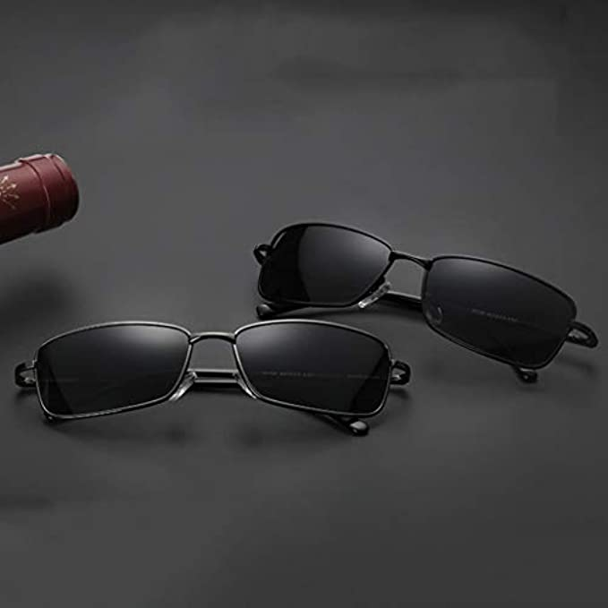 Tide Leg Gun Miopia Mirror Sole Fishing Glasses Polarized Small Driving Color Occhiali Uomo colore Anti-uv Persone nero Da Yun