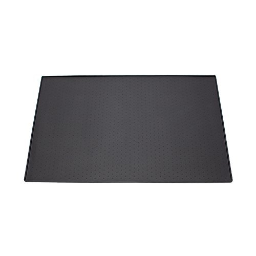 Pet Food Mat for Dogs and Cats Premium Grade Black Silicone