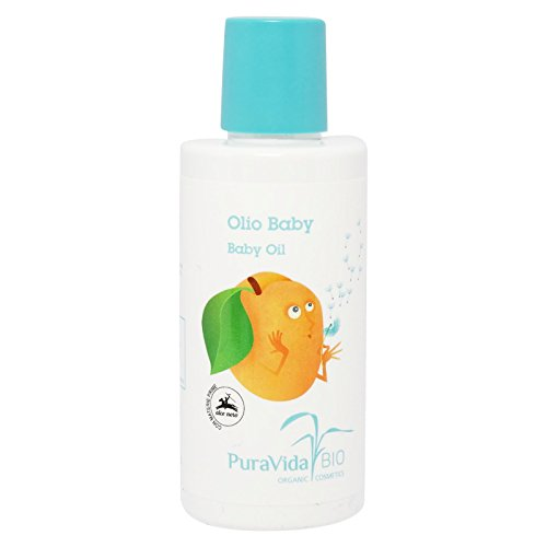 PURAVIDA BIO - Baby & Moms Oil - Moisturizing and Emollient - Great for Infant Massages - Suitable for Mother's Skin - AIAB, Vegan, Nickel-Tested, Gluten and Parabens Free - 150 ml