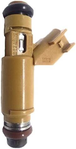 5 Pieces OEM DENSO Fuel Injectors for Volvo S40//V50//C30 2.4L I5 Part# 8627815