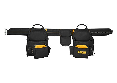 DEWALT DG5640 Deluxe Carpenter's Combo Apron, 16 Pocket ()