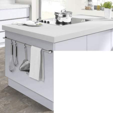 Modulocuisine Plan De Travail Cuisine Blanc Mat 200x60cm Amazon