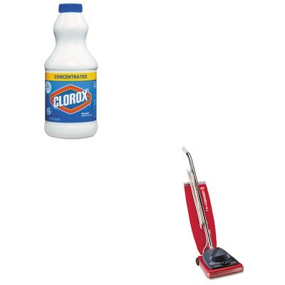 KITCOX30768EUKSC684F - Value Kit - Clorox Concentrated Regular Bleach (COX30768) and Commercial Vacuum Cleaner, 16quot; (EUKSC684F)