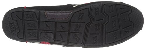 Skechers Bobs Van Luxe Slip-on Flat Black Cherry Blossom Voor Dames