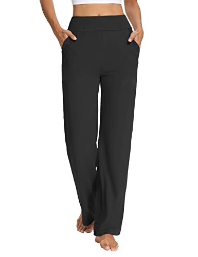 Sarin Mathews Womens Yoga Sweatpants Bootcut Loose Comfy Lounge Wide Leg Pants Workout Joggers Pants with Pockets