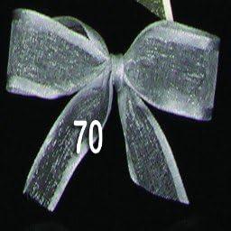 Argent Scintillant Satine Organdi Georgette Craft Ribbon 2 5 Cm X 54 9 M Amazon Fr Cuisine Maison