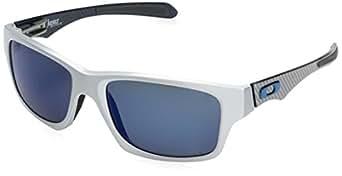 Oakley Jupiter Factory Lite Sunglasses in Brushed Aluminium Ice Iridium Polarised - OO4066 04 57 Jupiter Factory Lite OO4066 04 57 Jupiter Factory Lite 57 Ice Iridium Polarised