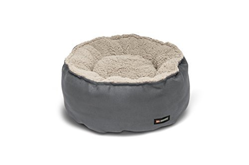 Big Shrimpy Catalina Plush Pet Bed for Cats and Small Dogs, Medium, Clay by Big - Big Shrimpy Bed Catalina