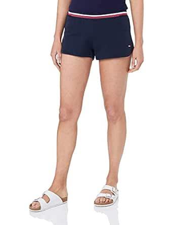 Tommy Hilfiger Women's Signature Waist Shorts, Navy Blazer, SM