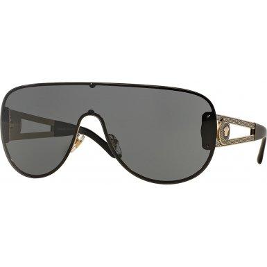 Versace VE2166 Sunglasses 125287-41 - Pale Gold Frame, Grey