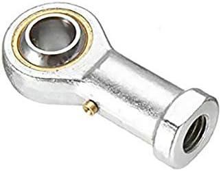 argento Vogueing Tool Rod End Bearing Tie Bearing Alloy Steel Female Thread Heim Joint per applicazioni marine e industriali confezione da 1