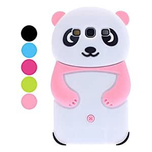 3D Design Panda Pattern Soft Case for Samsung Galaxy S3 I9300 (Assorted Colors) --- COLOR:Green