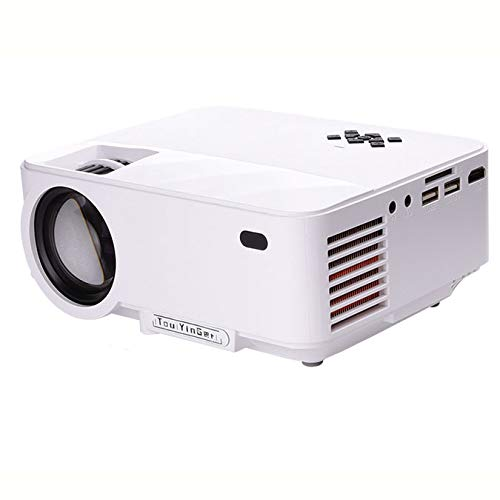 LOVEPET Multifunción Micro Proyector Soporte Portátil 1080P Movie ...