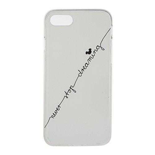 """Hülle iPhone 7 Plus / iPhone 8 Plus , LH Zeilenbuchstaben TPU Weich Muschel Tasche Schutzhülle Silikon Handyhülle Schale Cover Case Gehäuse für Apple iPhone 7 Plus / iPhone 8 Plus 5.5"""""""