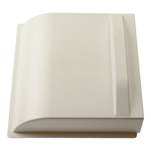 Midwest Plastics Screen Door Slider - Bright White (Parts Winnebago)