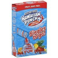 (Hawaiian Punch Fruit Juicy Red singles to go 48 count)