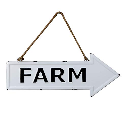 (Barnyard Designs Farm Rustic Vintage Enamel Bar Sign Country Home Decor 17.25