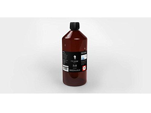 Classic Dampf Base VG/PG 70/30 0 mg Rheingold 1 L zum selber Mischen von E Liquid/Base für E Zigarette und E Shisha