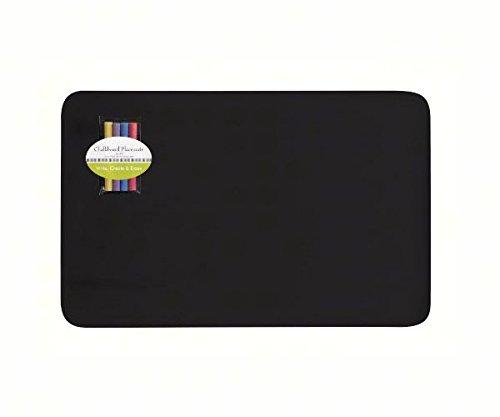 Easy-Arrangers-EACHLKBRD-Hardboard-Chalkboard-Placemats-Set-Of-2