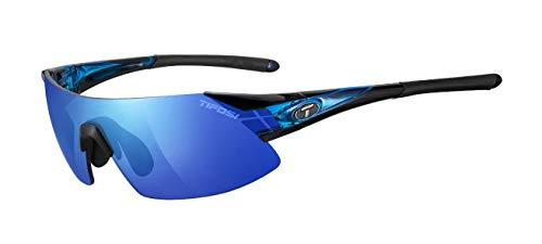 Tifosi Podium XC Podium Shield Sunglasses,Crystal Blue,143 mm