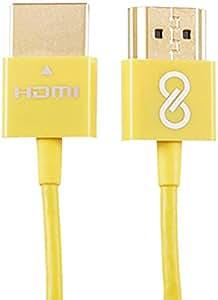 Vibgyor Ultra-Thin HDMI 2.0 Cable, 1M [CBH1-Y]