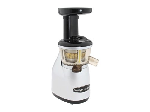Omega VRT350 Vertical Low Speed Juicer, 150-Watt, Silver