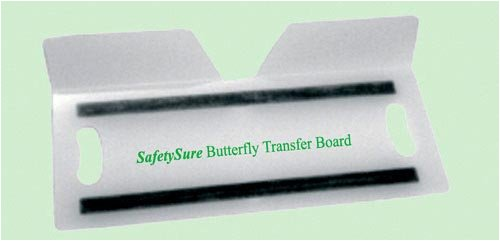 SafetySure Flexible Plastic Transfer Board Butterfly 23