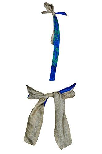 Maniche Blue Interior Donna Senza Beige Mogul Camicia qXPx0q4